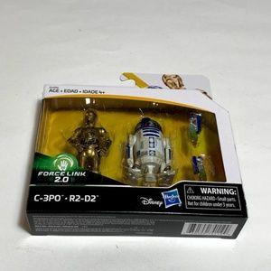 Star Wars Force Link 2.0 C-3PO & R2-D2 Figures